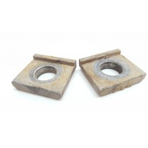 Axle Collar Chain Adjuster Spacers Blocks Honda CR125 1994 CR 125 94 250 #661