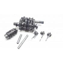 Transmission Gearbox Internals Shift Forks Drum Suzuki RM125 1994 #679