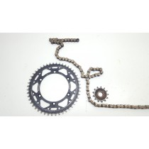 Chain & Sprockets O-ring Kawasaki KX250F 2011 11-13 KX 250 #681