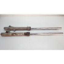Front Forks 35mm Suzuki DR200 DR 200 Left Right Damper Suspension 1986-1991