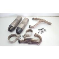 Akrapovic Exhaust System Muffler Silencer Header Honda CRF250R 2009 #690