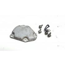 Left Exhaust Power Valve Cover Suzuki RM250 2002 RM 250 99-02 #696