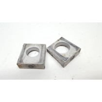 Axle Blocks Chain Adjusters Husqvarna TE310 2013 #726