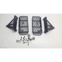 Force Radiator Guards KTM 250EXC-F 2010 250 EXC F 10  #754