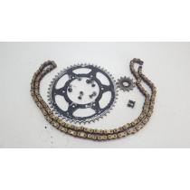 Used Sprockets & Chain KTM 250EXC-F 2010 250 EXC F 10  #754