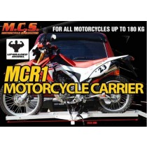 Tow Hitched Aluminium Motorcycle Carrier Motorbike Transporter
