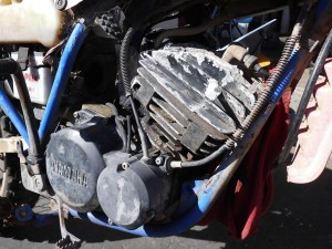 Complete Motor Engine Gearbox Out Of 1993 Yamaha DT175 DT 175