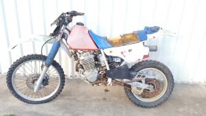 Honda XR250R XR 250 Project Bike Parts 1986 Wrecking Restore Vinduro